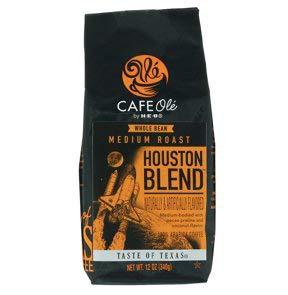 Cafe Ole Taste Of Texas Houston Blend Whole Bean 12oz. (3 pack)