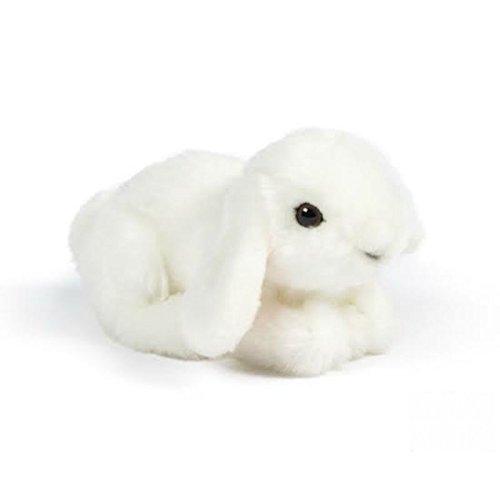 Living Nature Stofftier - Kleines Kaninchen weiß (16cm)