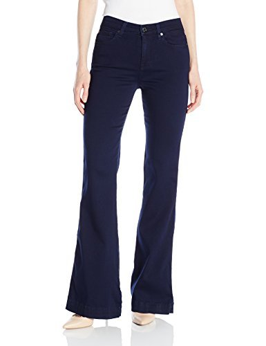 7 For All Mankind Women's Ginger Fashion Trouser Jean in Featherweight Rich Blue, 32