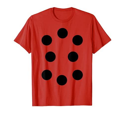 Disfraz de mariquita Spots Puntos Bugs Entomologa Halloween Camiseta