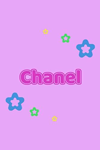 Chanel: Personalisiertes Vornamen Tagebuch für Frauen und Mädchen - Notizbuch, Notizheft oder Schreibheft für Schule, Uni, Beruf, Job oder Einschulung ... - Punkteraster - Format 6x9 ca. DIN A295