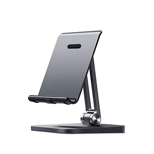 Soporte Tablet pie Metal Escritorio aleación Plegable Stand Creativo Perezoso teléfono móvil Base 12.9 Pulgadas Gran Ban Lu Yi (Size : 85 * 85 * 125)