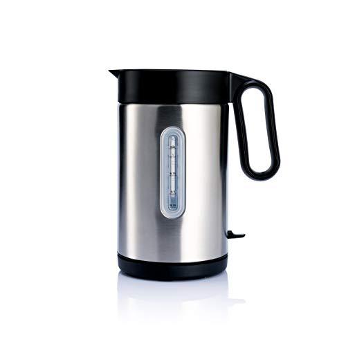 Wilfa CLASSIC Wasserkocher - mit einem Fassungsvermögen von 1 Liter, 2000 Watt, außenliegende Wasserstandsanzeige, silber