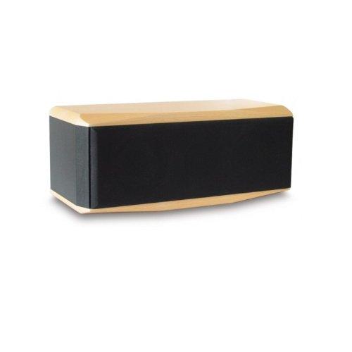 Dynavox TG 1000B-C Centerlautsprecher, Surround-Lautsprecher für 5.1 Heimkino-Systeme in kompaktem Design, Buche