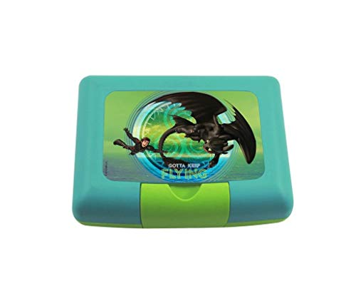 Dragons 3 Brotdose mit Trenner