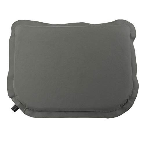 ALPIDEX Selbstaufblasendes Camping Sitzkissen 40 x 30 x 3,8 cm Stadion Kissen Outdoor Thermokissen Sitzmatte Ultraleicht, Farbe:Stone Grey