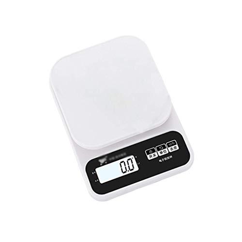 Panduo Báscula electrónica de alimentos para cocina, báscula electrónica con retroiluminación LED, pantalla grande, alta precisión (tamaño: 5 kg/0,5 g) (tamaño: 5 kg/0,5 g)
