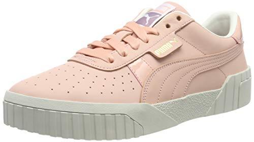 Puma Cali Nubuck, Zapatillas Deportivas para Mujer, Rosa (Peach Bud-Peach Bud), 38 EU