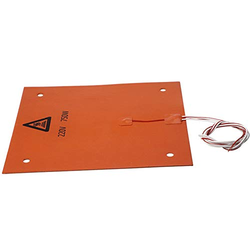 3d Printer Silicone Hot Heated Bed Silicone Heated Pad 3d Printer Accessories Heating Plate 3d Printer Tools Silicone Heater Hotbed Mat 310x310mm 220v 750w