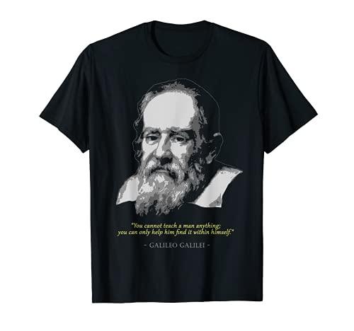 Camiseta de Galileo Galilei