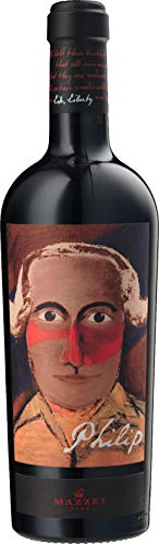 Philip  - Dedicato a Filippo Mazzei, Medico, Filosofo e Saggista Italiano - 2017 - Castello di Fonterutoli - Vino rosso Toscana IGT - Bottiglia 0,75 l