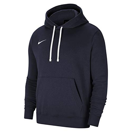 Nike Herren Team Club 20 Hoodie Kapuzenpullover, Obsidian/White/White, L