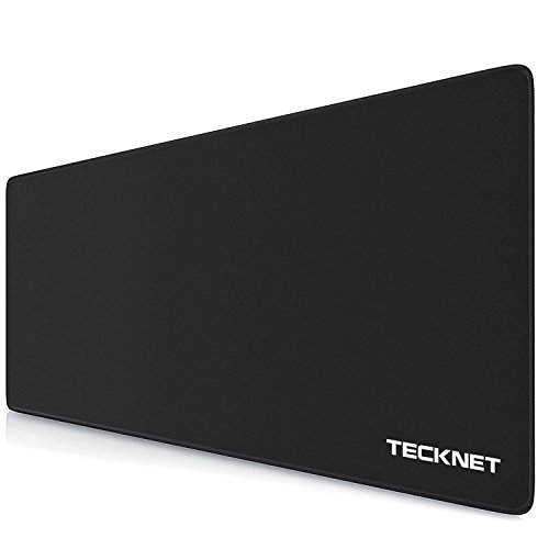 TECKNET XXL Alfombrillas de Ratón - Gaming Mousepad 900x400x3mm, Base de Goma...