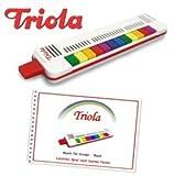 Triola 12 - die beliebte Blasharmonika für Kinder mit 12 Tönen -- im Set mit dem brandneuen Liederbuch Band 4