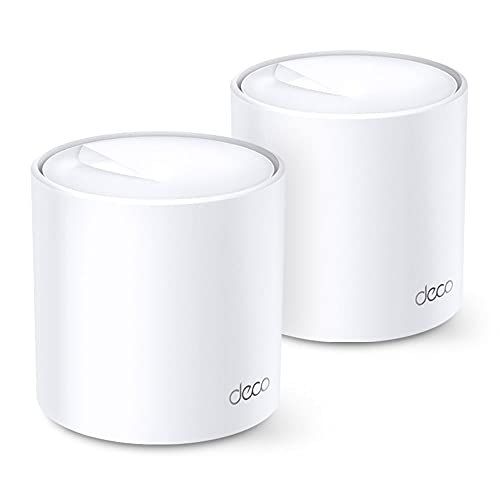 DECO X20(2-PACK)(US)2.0 AX1800 WHOLE HOME MESH WI-FI SYSTEM