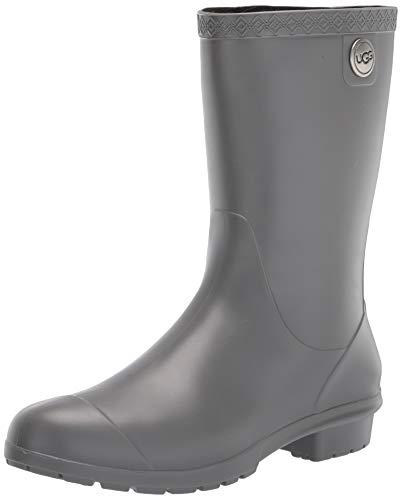 UGG Women's Sienna Matte Boot, Charcoal, 9