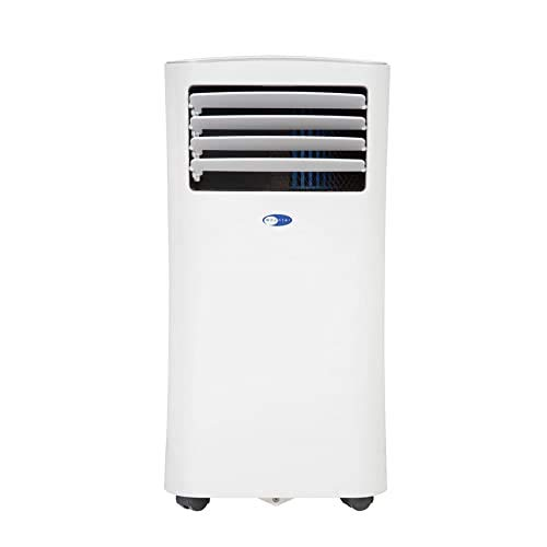 Whynter ARC-102CS Compact Size 10,000 BTU Portable Air Conditioner, Dehumidifier, Fan with 3M and SilverShield Filter for Rooms up to 215 sq ft, Multi
