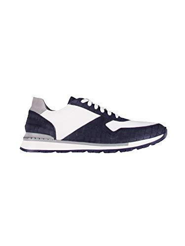 engbers Herren Sportiver Active-Sneaker mit Rutschfester Sohle, 29547, Blau in Größe 42