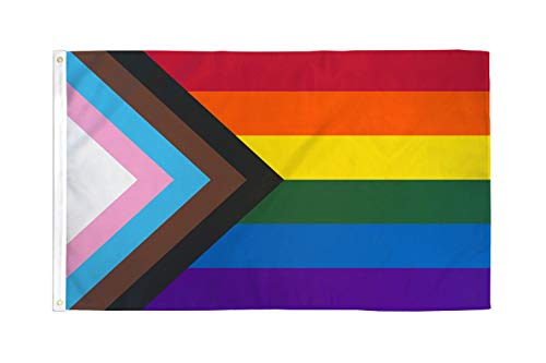 The Flag Joint - Progress Pride Flag 3x5ft Poly - Perfect for Showing Your Pride Community Support!