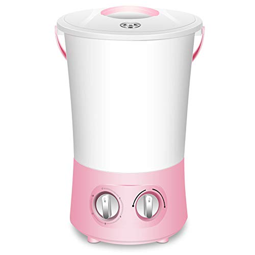 Qyaml Mini Lavadora Portatil Centrifugadora, Fácil De Mover, Puede Contener 1.8 Kg De Ropa Interior, Ropa Interior Y Calcetines, Adecuada para El Hogar, Dormitorio