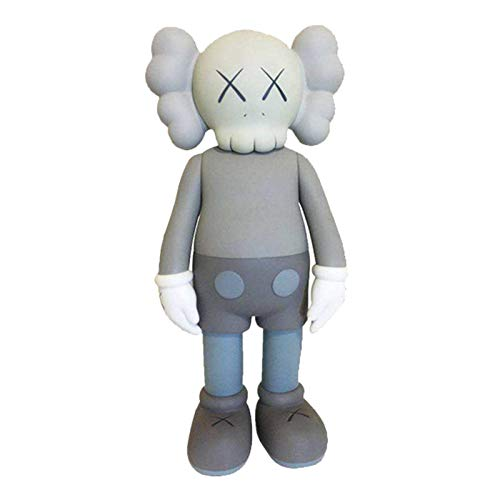"Prototype KAWS Original Dissected Companion Model Art Toys Action Figure Collectible Model Toy 8"" 20cm (Gray)"