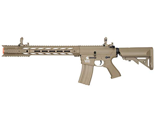 Lancer Tactical LT-25 Gen 2 M4 AEG Airsoft Rifle (Tan with High FPS)