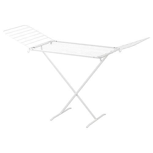 IKEA MULIG Wäscheständer für draußen, Wäscheständer weiß