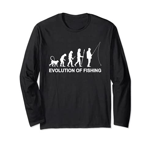 Evolución de la pesca con caña para pescadores Manga Larga