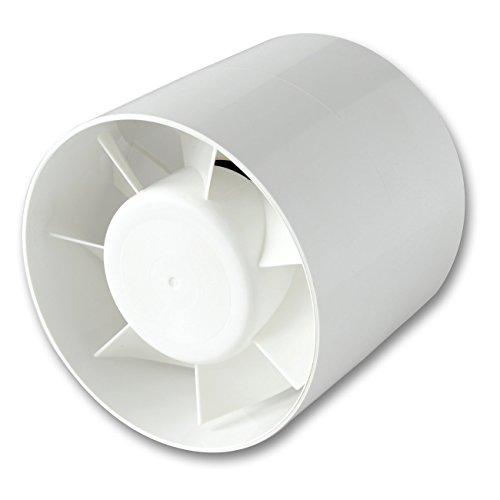 La Ventilazione AA125T Aspiratore Elicoidale per Condotti di Aerazione, diametro 120/125 mm