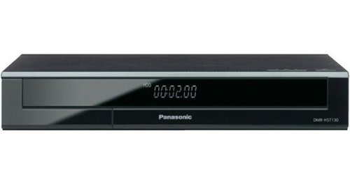 Panasonic DMR-HST130EG9 Premium Set-Top-Box (Twin HD DVB-S Tuner, 500 GB Festplatte, 2x CI+ Slot, WLAN, Internet Apps, HbbTV, Miracast, USB 2.0) schwarz