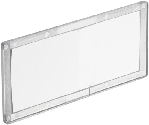 Jackson Safety Welding Magnifier (Cheater Lens) Plate, 1.25 Diopter, Polycarbonate, Clear, 16054