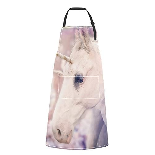 Delantal Unicornio Niña  marca ALALAL