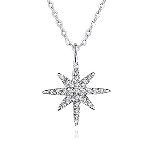 EZEELIFE Dainty Necklaces for Women,Silver Pendant Necklaces jewlery Gifts for Girls