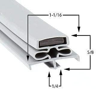 GasketsandStripCurtains.com G10010 Door Gasket Refrigerator Freezer Cooler 341-60097-00 Compatible with Traulsen G10010 using 341-60097-00