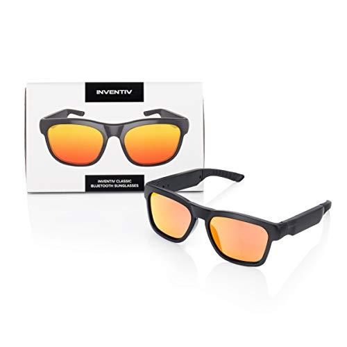 Inventiv Wireless Bluetooth Audio Sunglasses, Open Ear Headphones Music & Hands-Free Calling, for...