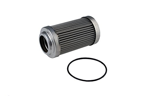 Aeromotive 12635 Replacement Filter Element, 40-Micron Stainless Mesh, Fits All 2' OD Filter Housings