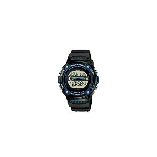 Casio Solar Armbanduhr W-S210H-1AVEG (L x B x H) 45.4 x 44 x 13.3 mm Schwarz Gehäusematerial=Harz Material (Armband)=Ha