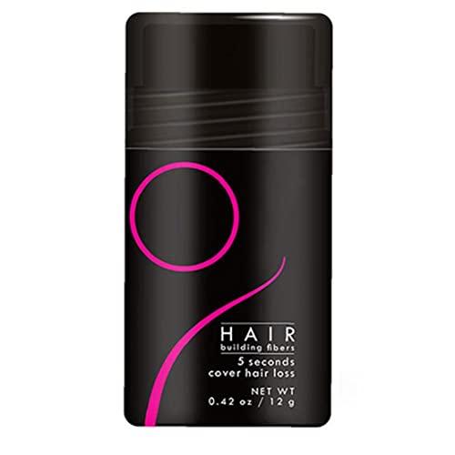 Fibra de cabello Espesor del cabello Parril de cabello Relleno Contorno Polvo Raíz de cabello Cubierta de la raíz de oro, sombra de la línea del cabello