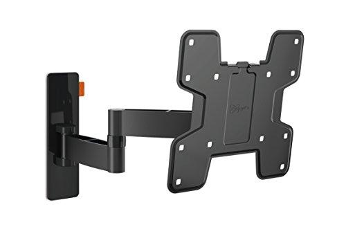 Vogel's WALL 2145 TV-Wandhalterung für 48-104 cm (19-40 Zoll) Fernseher, drehbar und neigbar, max. 15 kg, Vesa max. 200 x 200 mm, schwarz