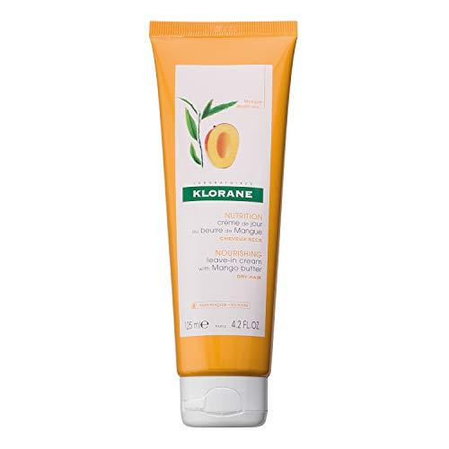 Klorane Maschera Capelli Senza Risciacquo al Mango, 125 ml