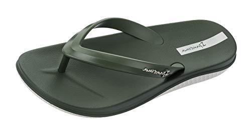 Ipanema Anatomic Lapa Herren Flip Flops/Sandals-Khaki-45/46