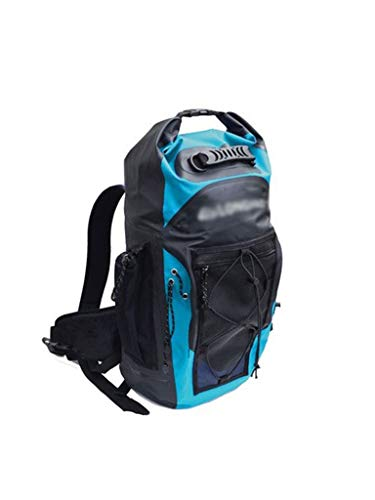 CHENG BAG Wasserdichte Tasche, Hohe Kapazität Dauerhaft Tragbar Innenfach Rucksack zum Bergsteigen Navigation Segelboot Schwimmen Tauchen (Farbe : Blau)