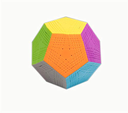 JYT 11X11x12 Dodecahedron Block Puzzle 11X11 12 Surface Magic Speed Cube Twist Magic Cube Toy, Environmentally Friendly Materials. for Children Birthday Gifts.