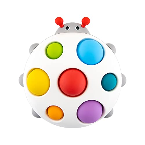 Baby Simple Dimple Fidget Toys - Push Pop Hand Toy Silicone Early Educational ADHD Fidgets Release...