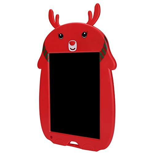DAUERHAFT Tabletas de Dibujo para niños, Tableta de Escritura LCD con Marco de Dibujos Animados, Tiempo de Espera de hasta 12 Meses, Ejercicio de la imaginación de los niños,