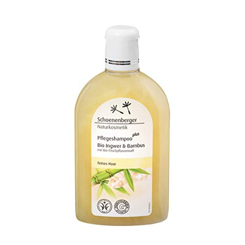 Schoenenberger Pflegeshampoo plus Bio-Ingwer & Bambus, 2er Pack (2 x 250 ml)