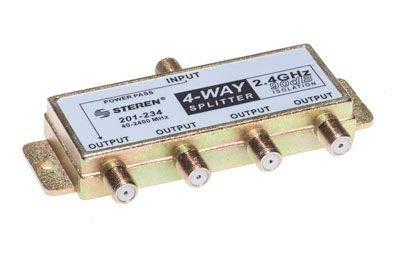 STEREN 201-234 Cable Splitter Divisor o combinador de Cable – Splitter/Combinador de Cables (Divisor de…