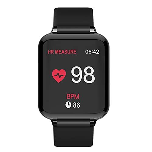 Smart Watch B57 Pulsera IP68 Impermeable Deportes Smart Reloj de Ritmo cardíaco Presión Arterial Fitness Mujeres Mejores,C