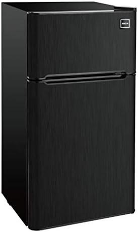 RCA RFR469 2 Door Refrigerator Freezer 4 6 cu ft Black Stainless Steel product image