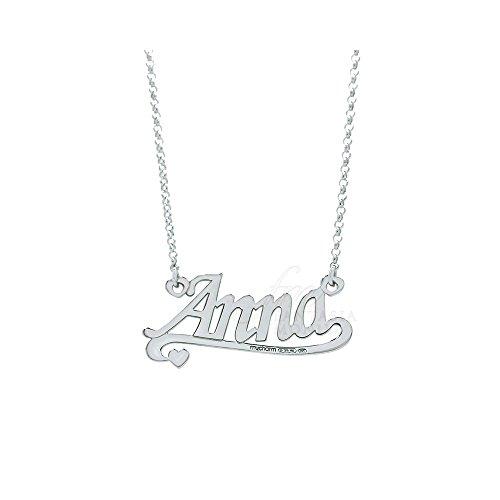 Mijn Charm Ketting Dame Zilveren Naam Anna AG3NB02A